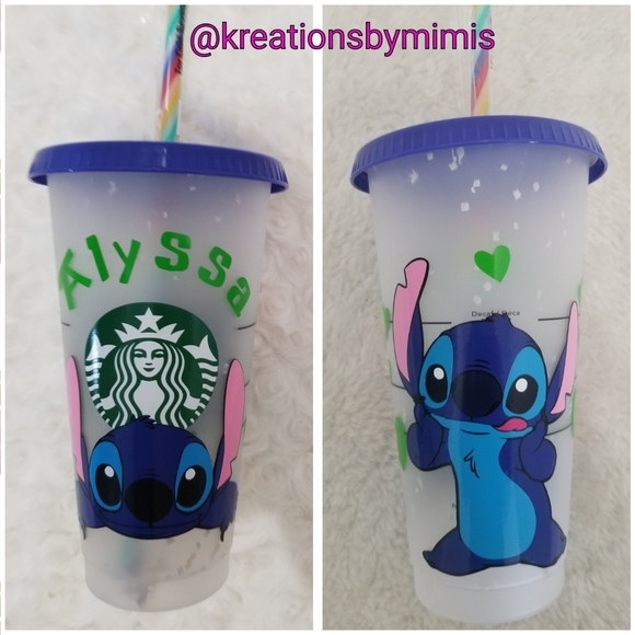 Other - Starbuck confetti cup